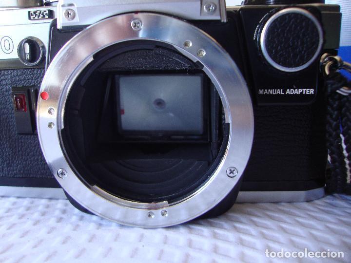 Cámara de fotos: ANTIGUA EH IMPECABLE CAMARA DE FOTOS OLYMPUS OM 10 - Foto 10 - 166536866