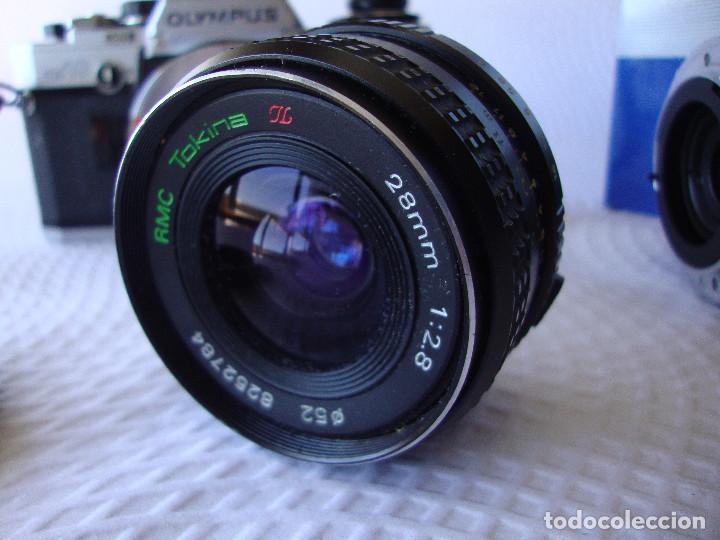 Cámara de fotos: ANTIGUA EH IMPECABLE CAMARA DE FOTOS OLYMPUS OM 10 - Foto 17 - 166536866