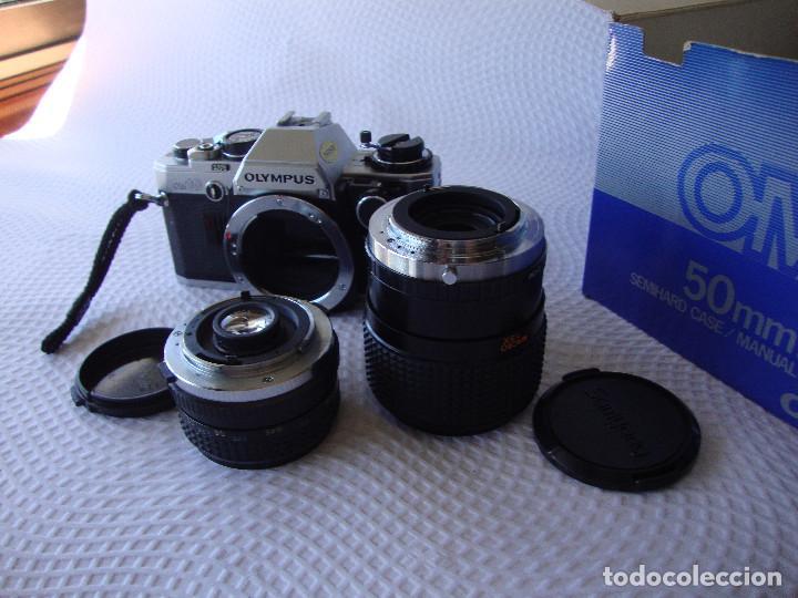 Cámara de fotos: ANTIGUA EH IMPECABLE CAMARA DE FOTOS OLYMPUS OM 10 - Foto 21 - 166536866
