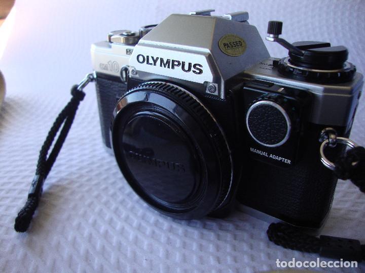 Cámara de fotos: ANTIGUA EH IMPECABLE CAMARA DE FOTOS OLYMPUS OM 10 - Foto 23 - 166536866
