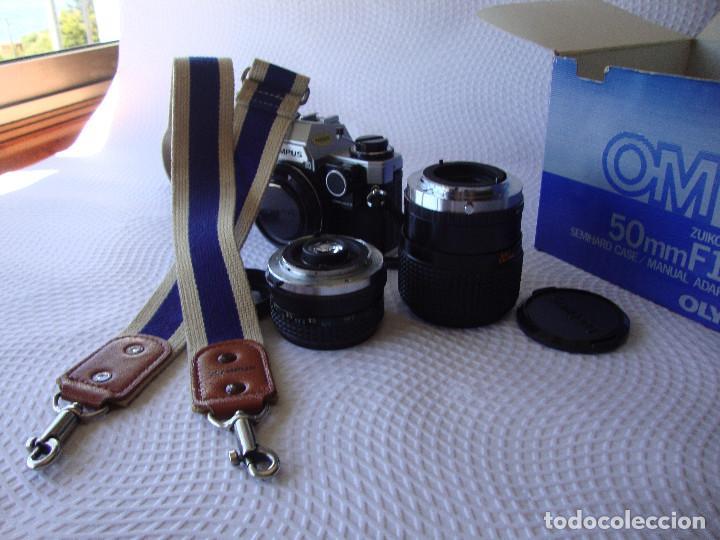 Cámara de fotos: ANTIGUA EH IMPECABLE CAMARA DE FOTOS OLYMPUS OM 10 - Foto 24 - 166536866