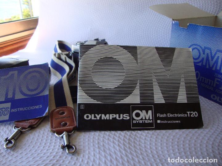 Cámara de fotos: ANTIGUA EH IMPECABLE CAMARA DE FOTOS OLYMPUS OM 10 - Foto 29 - 166536866