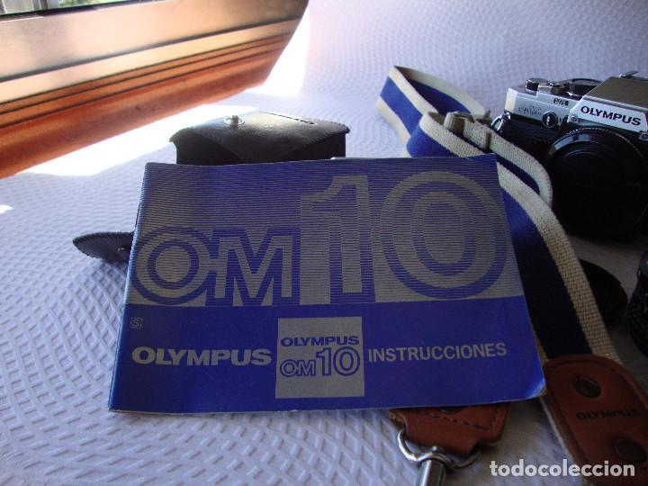 Cámara de fotos: ANTIGUA EH IMPECABLE CAMARA DE FOTOS OLYMPUS OM 10 - Foto 30 - 166536866