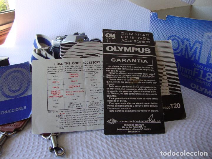 Cámara de fotos: ANTIGUA EH IMPECABLE CAMARA DE FOTOS OLYMPUS OM 10 - Foto 31 - 166536866