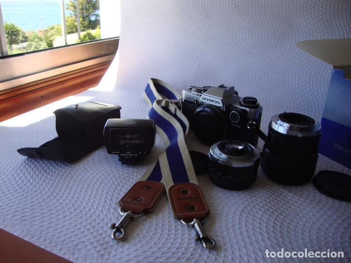 Cámara de fotos: ANTIGUA EH IMPECABLE CAMARA DE FOTOS OLYMPUS OM 10 - Foto 36 - 166536866