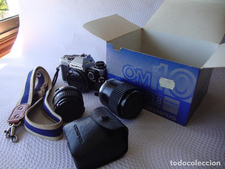 Cámara de fotos: ANTIGUA EH IMPECABLE CAMARA DE FOTOS OLYMPUS OM 10 - Foto 37 - 166536866