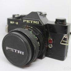 Cámara de fotos: REFLEX PETRI MF-2 + OBJETIVO 50MM 1:1,8. Lote 167175804