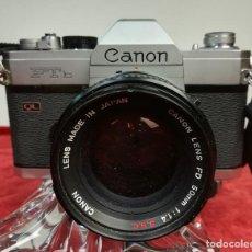 Cámara de fotos: CÁMARA FOTOGRÁFICA CANON FTB. (CIRCA 1973) JAPÓN. Lote 167196904