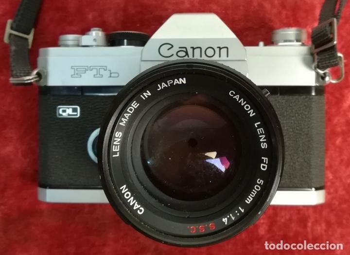 Cámara de fotos: CÁMARA FOTOGRÁFICA CANON FTb. (CIRCA 1973) JAPÓN - Foto 7 - 167196904