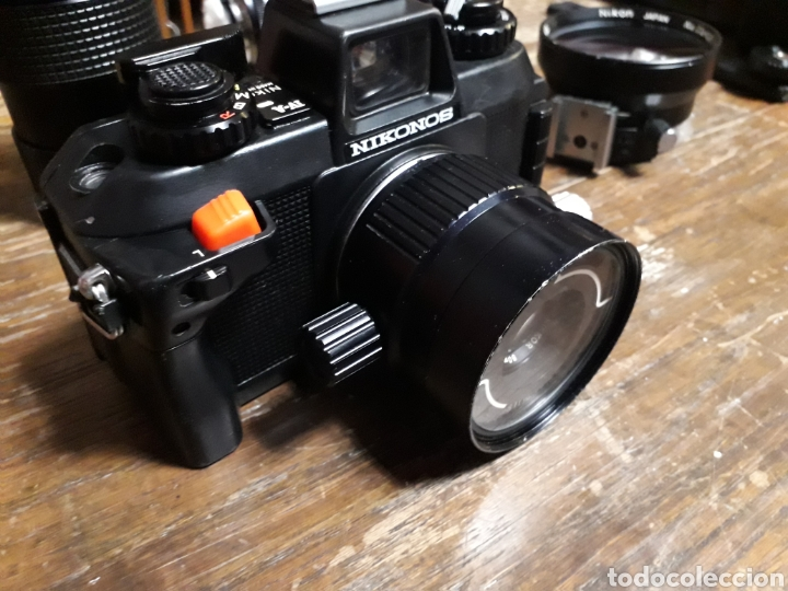 Cámara de fotos: Nikon NIKONOS AIV. Hanimex pz2 44. Falcon 40 pro. Protector No 116933. No 830161.super Orión 8089555 - Foto 8 - 167515114