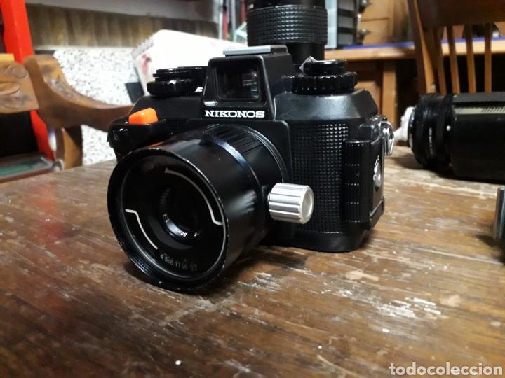 Cámara de fotos: Nikon NIKONOS AIV. Hanimex pz2 44. Falcon 40 pro. Protector No 116933. No 830161.super Orión 8089555 - Foto 9 - 167515114