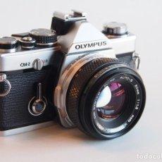 Cámara de fotos: OLYMPUS OM2 + ZUIKO 50MM F/1,8. Lote 168076540