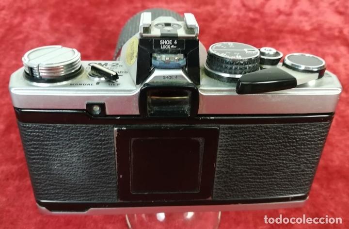 Cámara de fotos: CÁMARA FOTOGRÁFICA. OLYMPUS OM-2N CON OBJETIVO SÚPER COSINA (CIRCA 1979) JAPÓN - Foto 2 - 168551472
