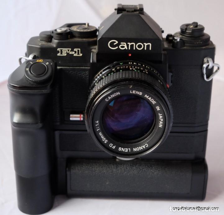 Cámara de fotos: Canon F1 + Mot drive + 50 1,4 fd SC.PERFECTA - Foto 6 - 43729377