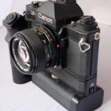 Cámara de fotos: CANON F1 + MOT DRIVE + 50 1,4 FD SC.PERFECTA. Lote 43729377