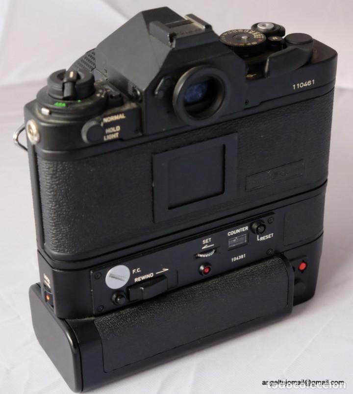 Cámara de fotos: Canon F1 + Mot drive + 50 1,4 fd SC.PERFECTA - Foto 8 - 43729377