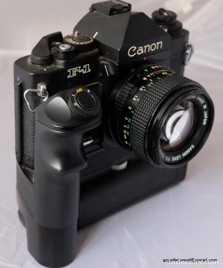 Cámara de fotos: Canon F1 + Mot drive + 50 1,4 fd SC.PERFECTA - Foto 7 - 43729377
