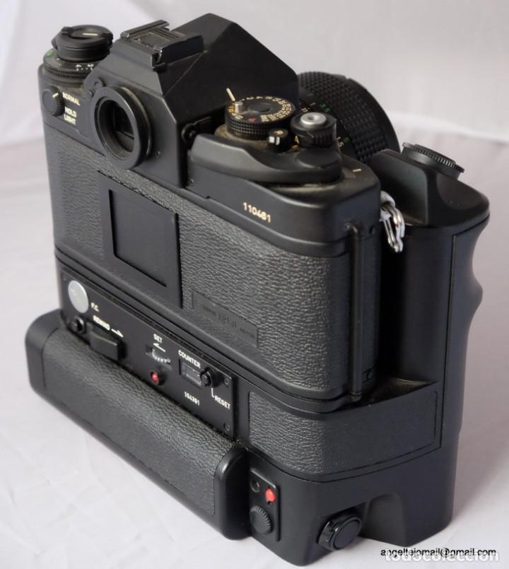 Cámara de fotos: Canon F1 + Mot drive + 50 1,4 fd SC.PERFECTA - Foto 9 - 43729377