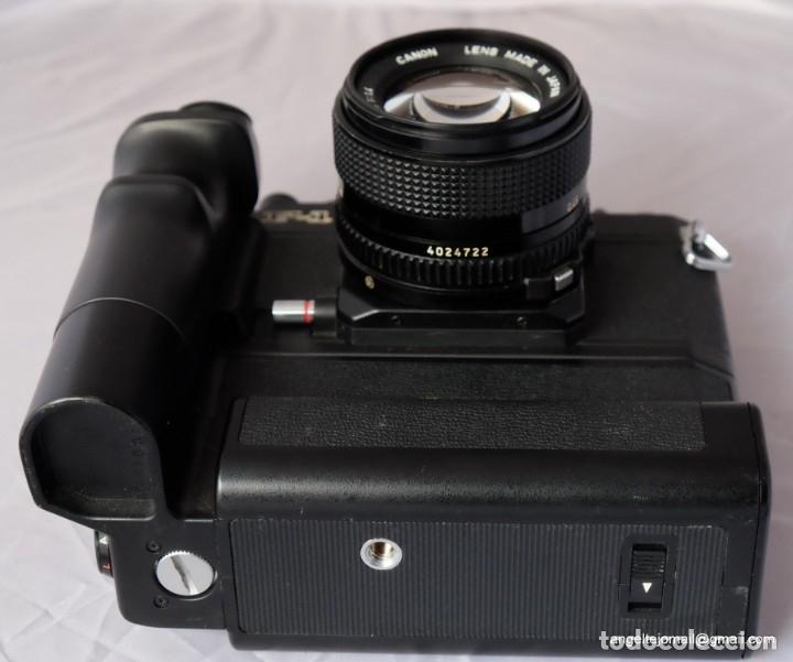 Cámara de fotos: Canon F1 + Mot drive + 50 1,4 fd SC.PERFECTA - Foto 11 - 43729377