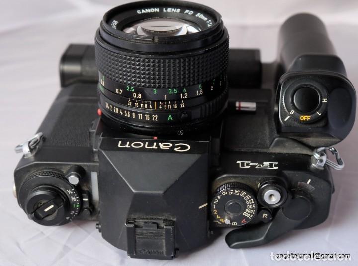 Cámara de fotos: Canon F1 + Mot drive + 50 1,4 fd SC.PERFECTA - Foto 10 - 43729377