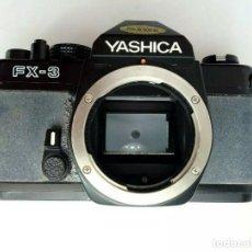 Cámara de fotos: CÁMARA YASHICA FX-3 - SLR - MONTURA CONTAX /YASHICA - FUNCIONA - VINTAGE HIPSTER. Lote 169724676