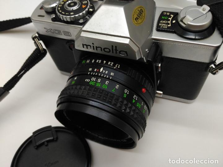 Cámara de fotos: CAMARA REFLEX MINOLTA XG9 - CON OBJETIVO MD ROKKOR 50 MM - FUNCIONA !! - Foto 5 - 170170380