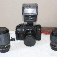 Cámara de fotos: CAMARA ZENIT 122K, ACCESORIOS Y OBJETIVOS (ZENIT, SAMYANG Y TOKINA). Lote 170855925