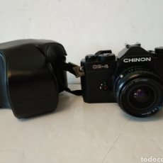 Cámara de fotos: CHINON CE-4 MEMOTRON ,+ OBJETIVO TAKUMAR BAYONET.FUNCIONA. Lote 170974742