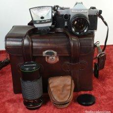 Cámara de fotos: CÁMARA FOTOGRAFICA. CHINOFLEX TTL CON ACCESORIOS. JAPON. CIRCA 1960.. Lote 172129049