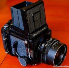 Cámara de fotos: EQUIPO COMPLETO MAMIYA RB 67 PRO S.ESTADO PERFECTO.. Lote 172133074