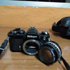 Cámara de fotos: NIKON FM. Lote 172233094