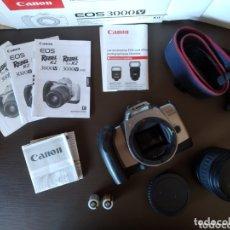 Cámara de fotos: CÁMARA CANON REFLEX EOS 3000 V. Lote 172760804