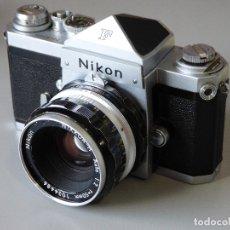 Cámara de fotos: EXCELENTE NIKON F. MUY BUSCADA!!!. Lote 173514428