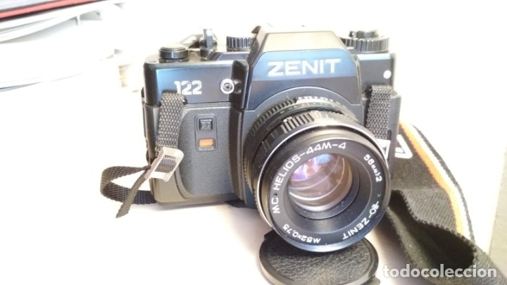 Cámara de fotos: Cámara réflex Zenit 122 + flash de regalo - Foto 2 - 173667054