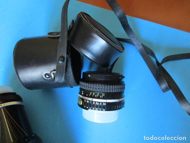 Cámara de fotos: CÁMARA NIKON F3 -OBJETIVO 50 MM F/1.4 - GRAN ANGULAR 28MM 1:2.8 - ZOMM 80-200 MM 1:4 - FLASH SB-17 - Foto 11 - 175161649