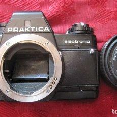 Cámara de fotos: MAGNIFICA CAMARA REFLEX PRAKTICA Y OBJETIVO PRAKTICA. Lote 175856965