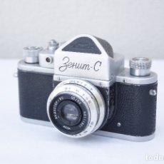 Cámara de fotos: CLÁSICA CÁMARA RÉFLEX DE COLECCIÓN - ZENIT C / S - AÑO 1961. Lote 175904147