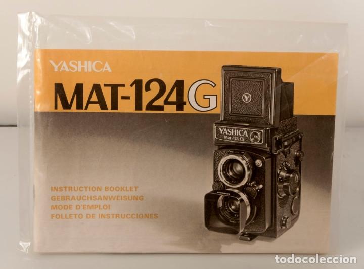 Cámara de fotos: CÁMARA YASHICA MAT-124G CON FUNDA ORIGINAL Y MANUAL DE INSTRUCCIONES. Estado excelente y funcionando - Foto 5 - 175980499