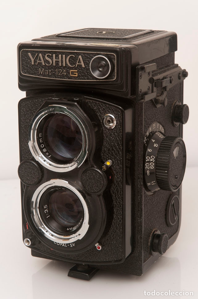 Cámara de fotos: CÁMARA YASHICA MAT-124G CON FUNDA ORIGINAL Y MANUAL DE INSTRUCCIONES. Estado excelente y funcionando - Foto 6 - 175980499