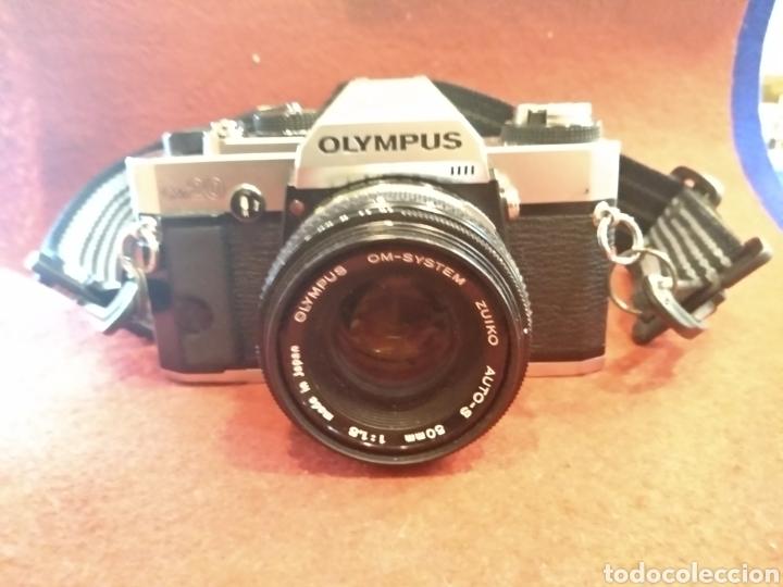 Cámara de fotos: Cámara Olympus OM20. Funciona - Foto 2 - 176325168