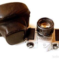 Cámara de fotos: *C1960* • ASAHI PENTAX S3 (M42 SLR RÉFLEX) + AUTO-TAKUMAR F1.8 55MM (FUNDA). Lote 176437047