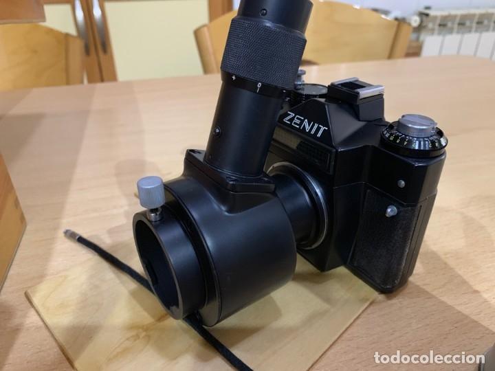 Cámara de fotos: ZENIT 11 CON ACCESORIOS PARA MICROFOTOGRAFIA - Foto 2 - 176569049