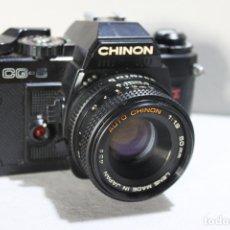 Cámara de fotos: CUERPO CHINON CG-5 + OBJETIVO 50MM 1:1,9 . Lote 177467345