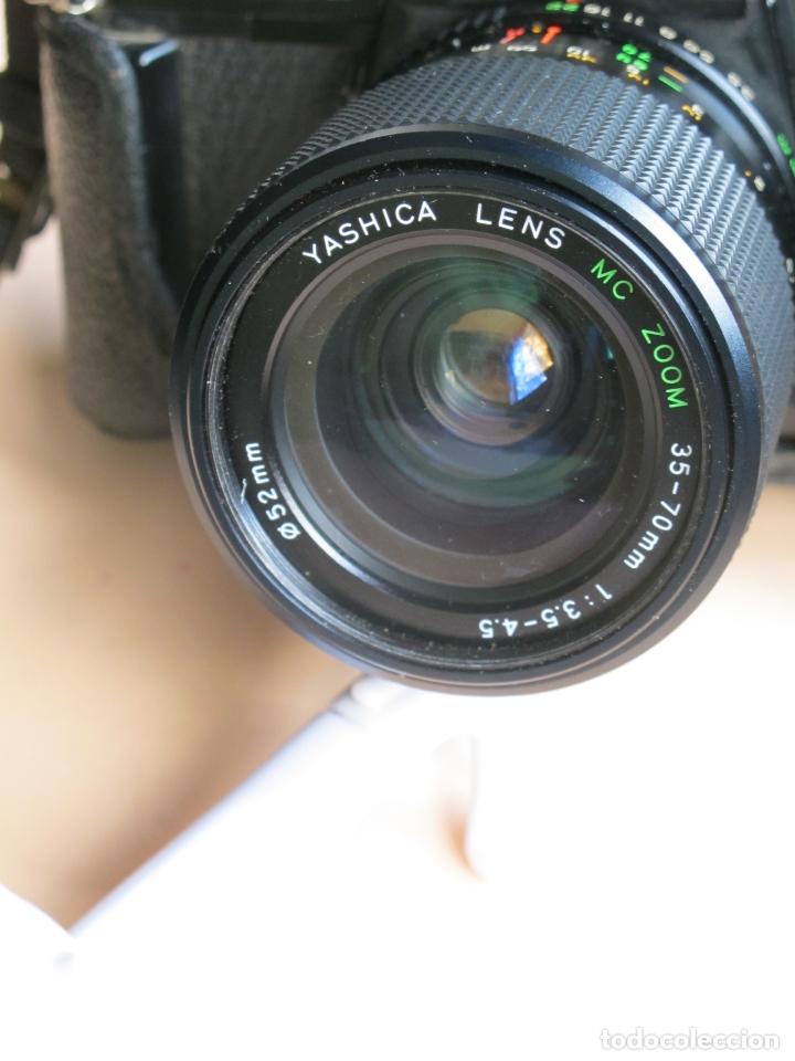 Cámara de fotos: CÁMARA MECÁNICA YASHICA FX-3 2000 + ZOOM YASHICA 35-70 MM./ 3,5-4,5 + FUNDA Y CORREA - Foto 2 - 177662550