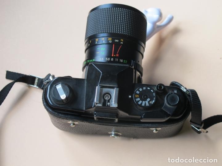 Cámara de fotos: CÁMARA MECÁNICA YASHICA FX-3 2000 + ZOOM YASHICA 35-70 MM./ 3,5-4,5 + FUNDA Y CORREA - Foto 3 - 177662550