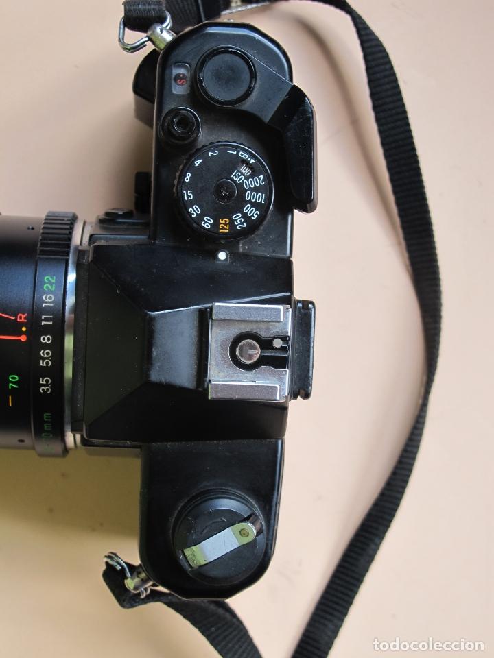 Cámara de fotos: CÁMARA MECÁNICA YASHICA FX-3 2000 + ZOOM YASHICA 35-70 MM./ 3,5-4,5 + FUNDA Y CORREA - Foto 5 - 177662550