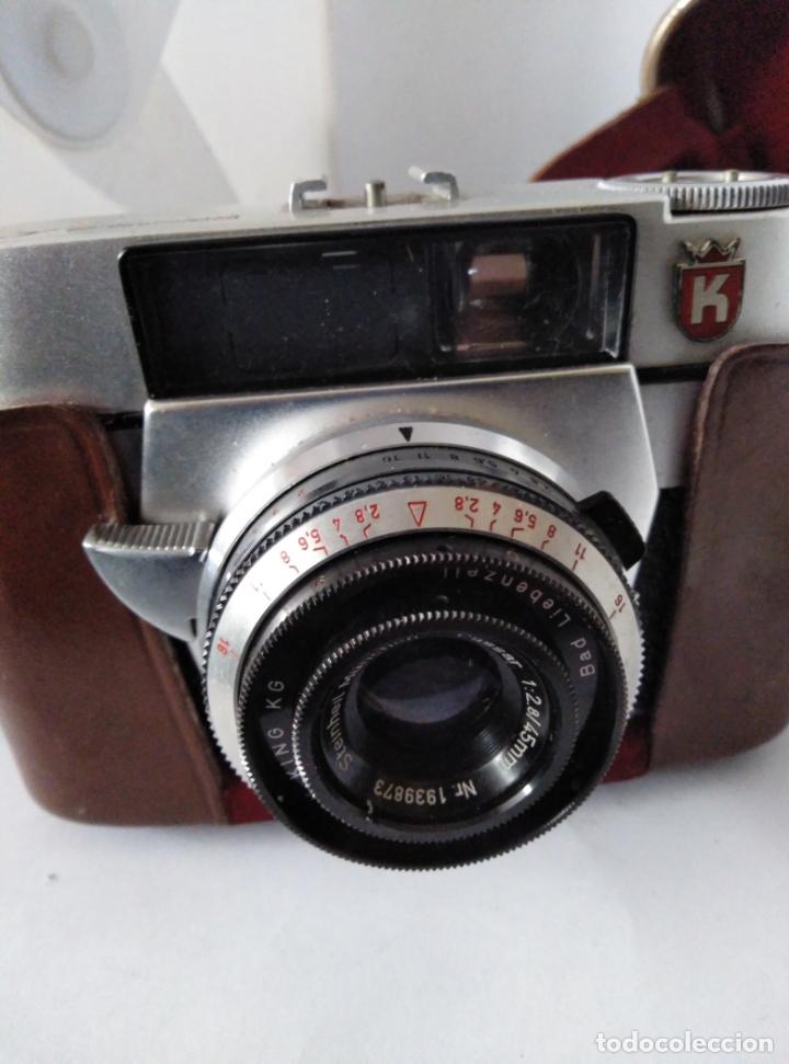 Cámara de fotos: cámara Regula L con funda cuero funcionando - Foto 3 - 177720090