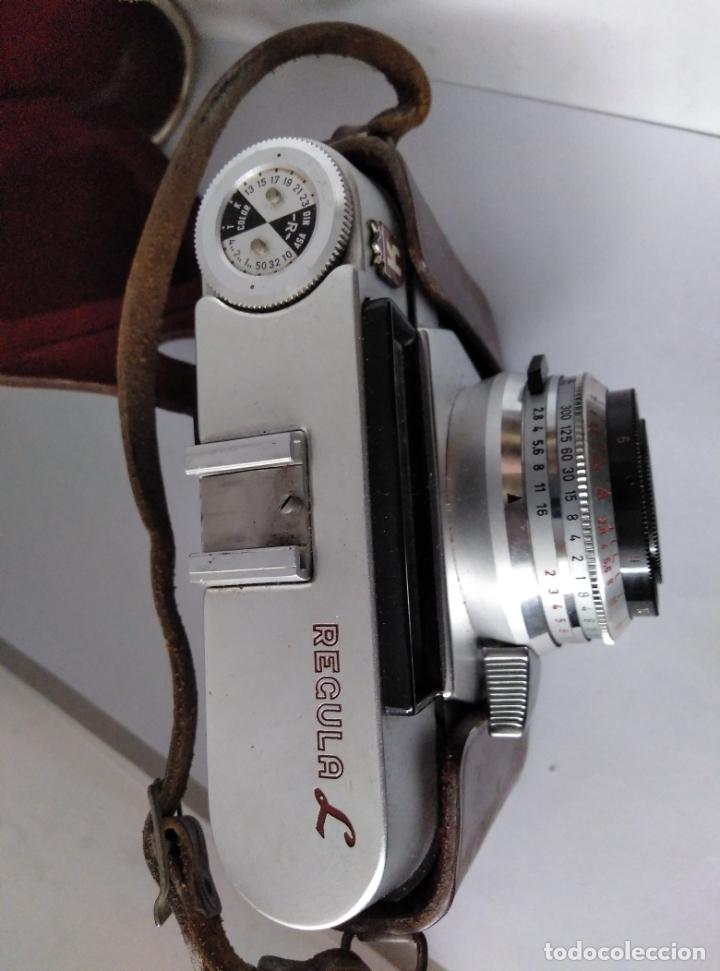 Cámara de fotos: cámara Regula L con funda cuero funcionando - Foto 4 - 177720090