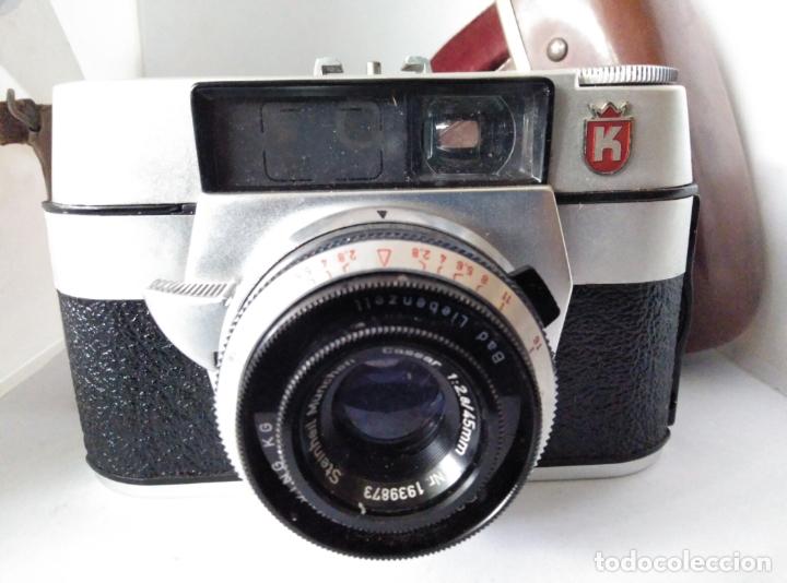 Cámara de fotos: cámara Regula L con funda cuero funcionando - Foto 5 - 177720090