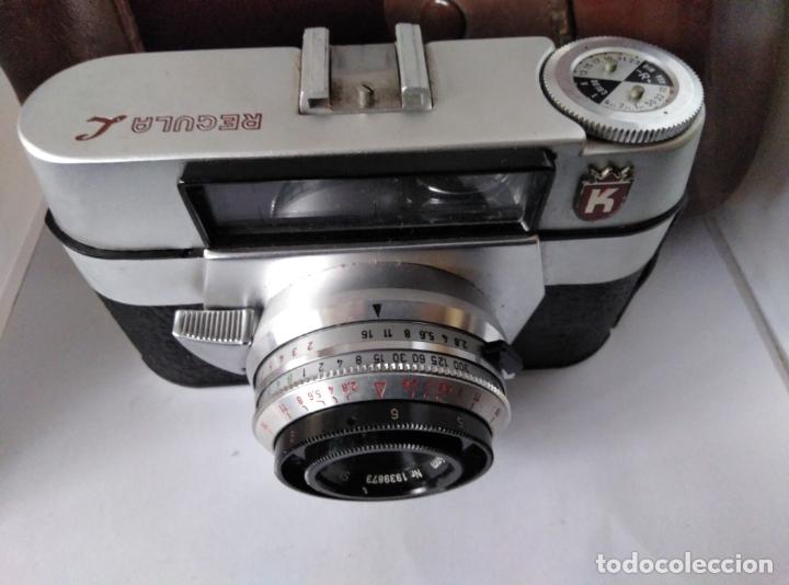Cámara de fotos: cámara Regula L con funda cuero funcionando - Foto 6 - 177720090